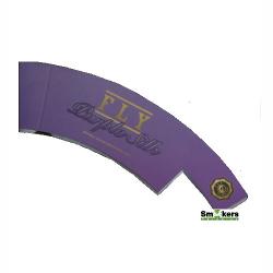 Fly Purple Silk