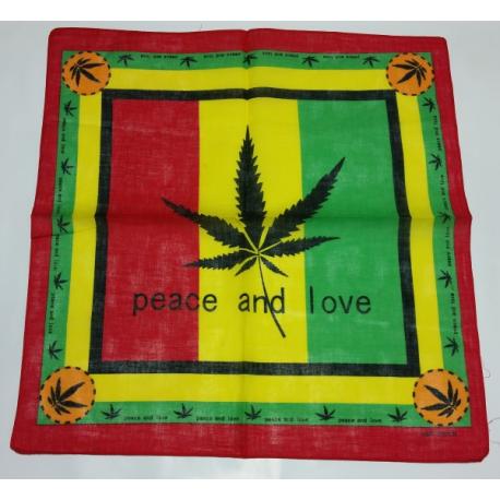 Bandana Peace And Love