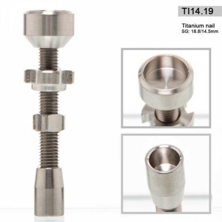 Titanium Nail  Multi 14.5 / 18.8