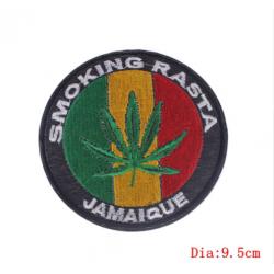 Smoking Rasta Patch