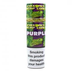Cyclones Hemp Cone Purple