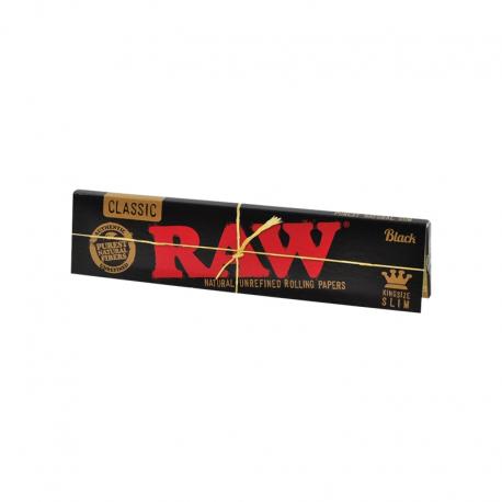Raw Black Papir