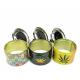 Metal Askebæger Cannabis