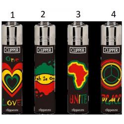 Classic Clipper Lighter Afrika