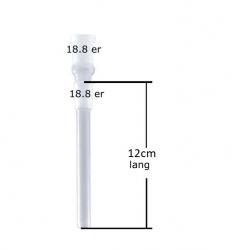 Slamrør 18.8mm 12cm